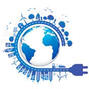 Wereld stroom