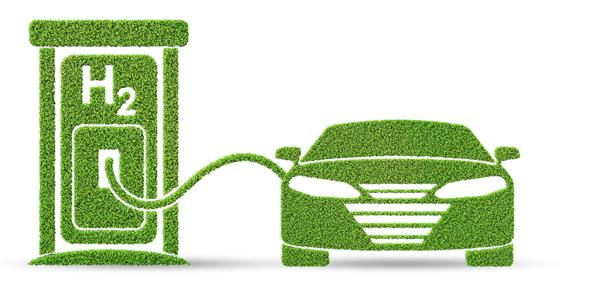 Hydrogen car concept – 3d rendering